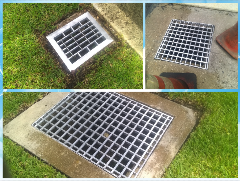 NEW STORM DRAIN COVERS